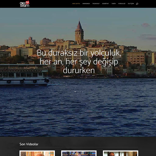 Aklıselim TV Web Site